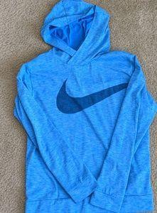 Nike boys dri fit lightweight hoodie EUC